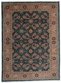 Ardebil Teppich  295X393 Echter Orientalischer Handgeknüpfter Schwartz/Dunkelrot Großer (Wolle, Persien/Iran)
