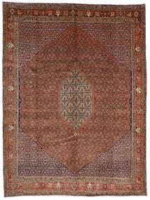 Bidjar Teppich 308X408 Echter Orientalischer Handgeknüpfter Dunkelrot/Dunkelbraun Großer (Wolle, Persien/Iran)