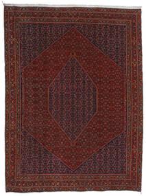 Bidjar Teppich 304X404 Echter Orientalischer Handgeknüpfter Dunkelrot/Dunkelbraun Großer (Wolle, Persien/Iran)