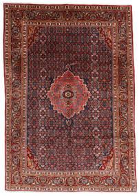 Bidjar Teppich  204X290 Echter Orientalischer Handgeknüpfter Dunkelrot/Dunkelgrau (Wolle, Persien/Iran)