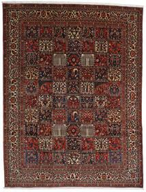 Bachtiar Teppich  298X390 Echter Orientalischer Handgeknüpfter Dunkelbraun/Dunkelrot Großer (Wolle, Persien/Iran)