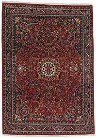 Bidjar Teppich  220X315 Echter Orientalischer Handgeknüpfter Dunkelrot/Dunkelgrau (Wolle, Persien/Iran)