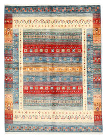 Modern Afghan Teppich 153X204 Echter Moderner Handgeknüpfter Beige/Dunkelgrau (Wolle, Afghanistan)