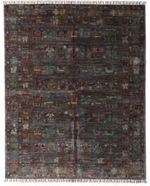 Shabargan Teppich  159X195 Echter Moderner Handgeknüpfter Dunkelbraun/Dunkelgrau (Wolle, Afghanistan)