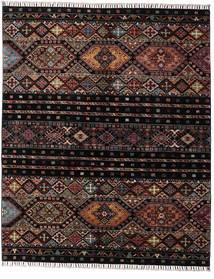 Shabargan Teppich  156X190 Echter Moderner Handgeknüpfter Dunkelbraun/Dunkelgrau (Wolle, Afghanistan)