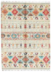 Sharbargan Teppich  173X238 Echter Moderner Handgeknüpfter Beige (Wolle, Afghanistan)