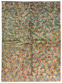 Moroccan Berber - Afghanistan Teppich  171X232 Echter Moderner Handgeknüpfter Dunkelgrau/Braun (Wolle, Afghanistan)