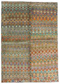 Moroccan Berber - Afghanistan Teppich  171X243 Echter Moderner Handgeknüpfter Braun/Dunkelgrau (Wolle, Afghanistan)