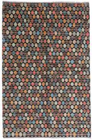 Moroccan Berber - Afghanistan Teppich  168X252 Echter Moderner Handgeknüpfter Schwartz/Hellgrau (Wolle, Afghanistan)