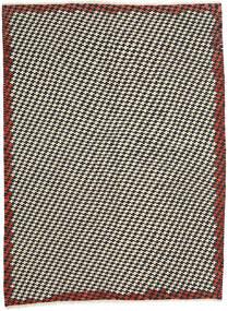 Kelim Modern Teppich 213X287 Echter Moderner Handgewebter Beige/Schwartz (Wolle, Afghanistan)