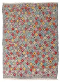 Kelim Afghan Old Style Teppich  87X118 Echter Orientalischer Handgewebter Hellgrau/Hellbraun (Wolle, Afghanistan)