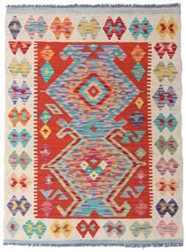 Kelim Afghan Old Style Teppich  77X104 Echter Orientalischer Handgewebter Hellgrau/Weiß/Creme (Wolle, Afghanistan)