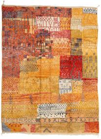 Berber Moroccan - Mid Atlas Teppich  312X412 Echter Moderner Handgeknüpfter Hellbraun/Orange Großer (Wolle, Marokko)
