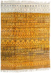 Berber Moroccan - Mid Atlas Teppich  302X400 Echter Moderner Handgeknüpfter Orange/Beige Großer (Wolle, Marokko)