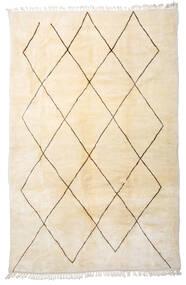 Berber Moroccan - Beni Ourain Teppich  222X340 Echter Moderner Handgeknüpfter Beige (Wolle, Marokko)