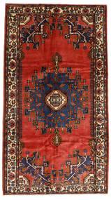 Mehraban Teppich 173X309 Echter Orientalischer Handgeknüpfter Rost/Rot/Dunkelbraun (Wolle, Persien/Iran)