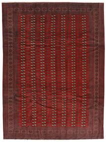 Turkaman Teppich  248X337 Echter Orientalischer Handgeknüpfter Dunkelrot/Dunkelbraun (Wolle, Persien/Iran)