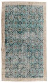 Vintage Heritage Teppich 112X197 Echter Moderner Handgeknüpfter Hellgrau/Türkisblau (Wolle, Persien/Iran)