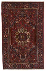 Gholtogh Teppich  78X124 Echter Orientalischer Handgeknüpfter Dunkelbraun/Dunkelrot (Wolle, Persien/Iran)
