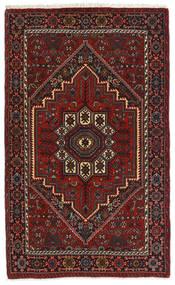 Gholtogh Teppich  79X127 Echter Orientalischer Handgeknüpfter Dunkelrot/Dunkelbraun (Wolle, Persien/Iran)