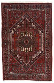 Gholtogh Teppich  81X124 Echter Orientalischer Handgeknüpfter Dunkelrot/Dunkelbraun (Wolle, Persien/Iran)