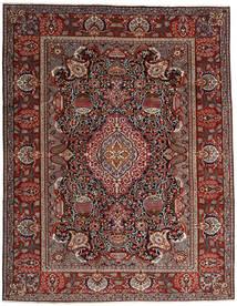 Kashmar Teppich  296X376 Echter Orientalischer Handgeknüpfter Dunkelrot/Dunkelgrau Großer (Wolle, Persien/Iran)