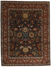 Farahan Teppich  242X313 Echter Orientalischer Handgeknüpfter Dunkelbraun/Dunkelrot (Wolle, Pakistan)