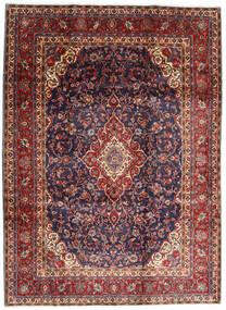 Hamadan Shahrbaf Teppich  220X298 Echter Orientalischer Handgeknüpfter Dunkelrot/Dunkellila (Wolle, Persien/Iran)