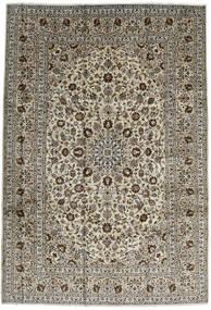 Keshan Teppich 246X357 Echter Orientalischer Handgeknüpfter Dunkelbraun/Schwartz (Wolle, Persien/Iran)