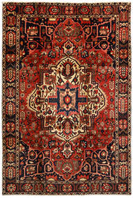 Bachtiar Teppich 214X316 Echter Orientalischer Handgeknüpfter Dunkelbraun/Dunkelrot (Wolle, Persien/Iran)