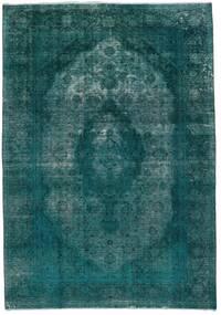 Vintage Heritage Teppich  235X336 Echter Moderner Handgeknüpfter Dunkel Türkis/Türkisblau (Wolle, Persien/Iran)