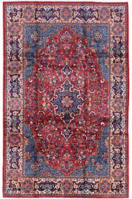 Golpayegan Teppich  210X322 Echter Orientalischer Handgeknüpfter Dunkellila/Helllila (Wolle, Persien/Iran)
