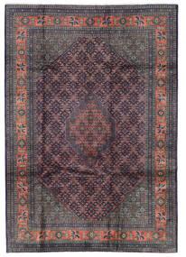 Ardebil Teppich  205X291 Echter Orientalischer Handgeknüpfter Dunkelgrau/Schwartz/Dunkelbraun (Wolle, Persien/Iran)