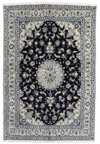 Nain Teppich  166X248 Echter Orientalischer Handgeknüpfter Dunkelgrau/Schwartz (Wolle, Persien/Iran)
