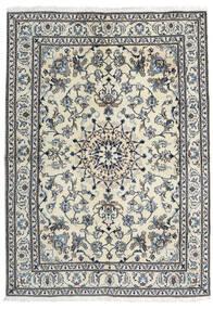 Nain Teppich  166X235 Echter Orientalischer Handgeknüpfter Dunkelgrau/Hellgrau (Wolle, Persien/Iran)