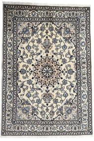 Nain Teppich 167X238 Echter Orientalischer Handgeknüpfter Dunkelgrau/Hellgrau (Wolle, Persien/Iran)