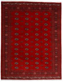 Pakistan Buchara 3Ply Teppich  247X318 Echter Orientalischer Handgeknüpfter Dunkelrot/Rot (Wolle, Pakistan)