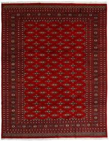 Pakistan Buchara 2Ply Teppich  240X307 Echter Orientalischer Handgeknüpfter Dunkelrot/Rot (Wolle, Pakistan)