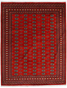 Pakistan Buchara 2Ply Teppich  248X316 Echter Orientalischer Handgeknüpfter Dunkelrot/Rost/Rot (Wolle, Pakistan)