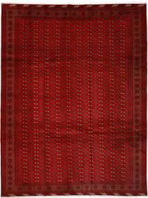 Turkaman Teppich 252X337 Echter Orientalischer Handgeknüpfter Rot/Rost/Rot Großer (Wolle, Persien/Iran)