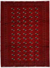 Turkaman Teppich 258X344 Echter Orientalischer Handgeknüpfter Rot/Dunkelrot/Dunkelbraun Großer (Wolle, Persien/Iran)