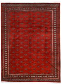 Pakistan Buchara 2Ply Teppich  281X369 Echter Orientalischer Handgeknüpfter Rost/Rot/Dunkelrot Großer (Wolle, Pakistan)