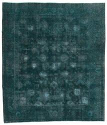 Vintage Heritage Teppich  244X280 Echter Moderner Handgeknüpfter Dunkel Türkis/Blau (Wolle, Persien/Iran)