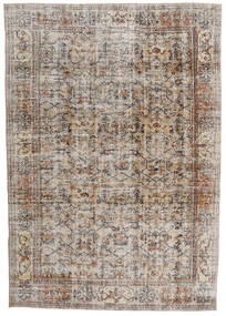 Vintage Heritage Teppich 210X302 Echter Moderner Handgeknüpfter Hellgrau/Braun (Wolle, Persien/Iran)
