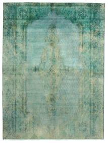 Vintage Heritage Teppich 189X256 Echter Moderner Handgeknüpfter Lindgrün/Türkisblau (Wolle, Persien/Iran)