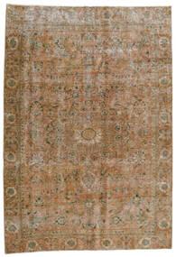 Vintage Heritage Teppich 186X270 Echter Moderner Handgeknüpfter Hellbraun/Hellgrau (Wolle, Persien/Iran)