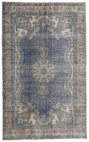 Vintage Heritage Teppich 188X306 Echter Moderner Handgeknüpfter Hellgrau/Dunkelbraun/Dunkelgrau (Wolle, Persien/Iran)