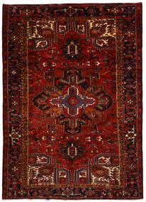 Heriz Teppich  240X337 Echter Orientalischer Handgeknüpfter Dunkelrot/Rot (Wolle, Persien/Iran)