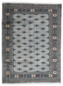 Pakistan Buchara 2Ply Teppich  173X234 Echter Orientalischer Handgeknüpfter Dunkelgrau/Hellgrau (Wolle, Pakistan)