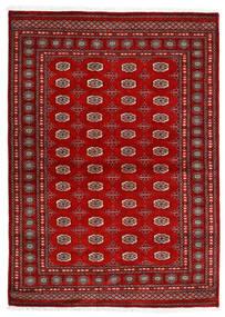 Pakistan Buchara 3Ply Teppich 173X241 Echter Orientalischer Handgeknüpfter Dunkelrot/Rost/Rot (Wolle, Pakistan)